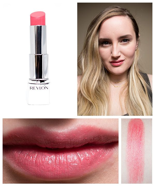Revlon Ultra HD lipstick Rose swatches | lips | Pinterest | Revlon ...