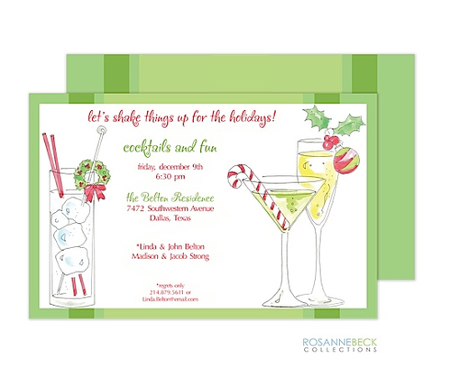 Christmas cocktail party invitations candy yummy christmas christmas cocktail party invitations candy yummy stopboris Gallery