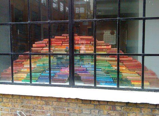 Arcobaleno di libri!