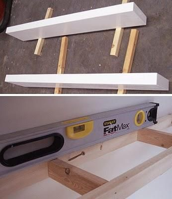 repisa para tv. Cómo hacer estantes flotantes c8fedfa2ce1b