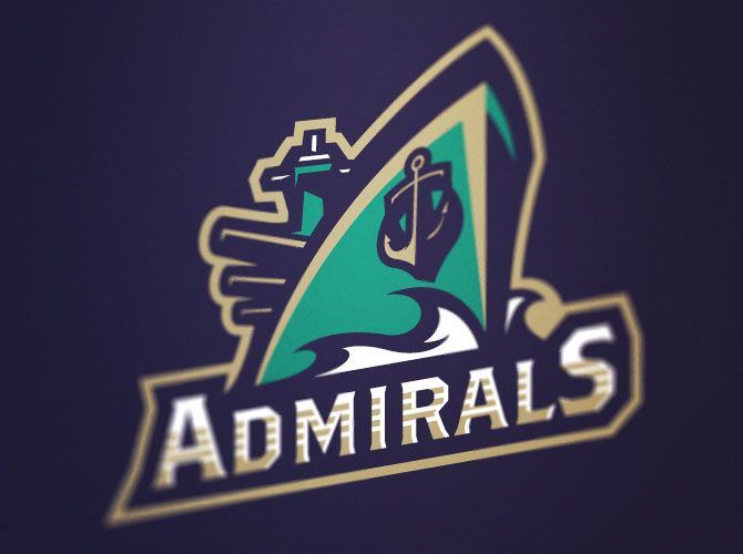 Vallejo admirals also milb logo pinterest logos and brand design rh in