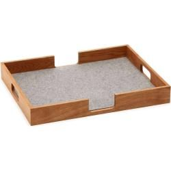 Photo of Hey-Sign Tray Tablett rechteckig 03 wollweiss Hey Sign