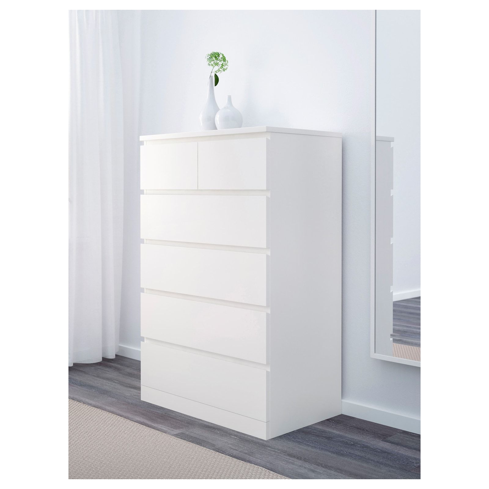 Malm 6 Drawer Chest White 31 1 2x48 3 8 Ikea In 2021 6 Drawer Chest Malm Chest Of Drawers [ 1600 x 1600 Pixel ]