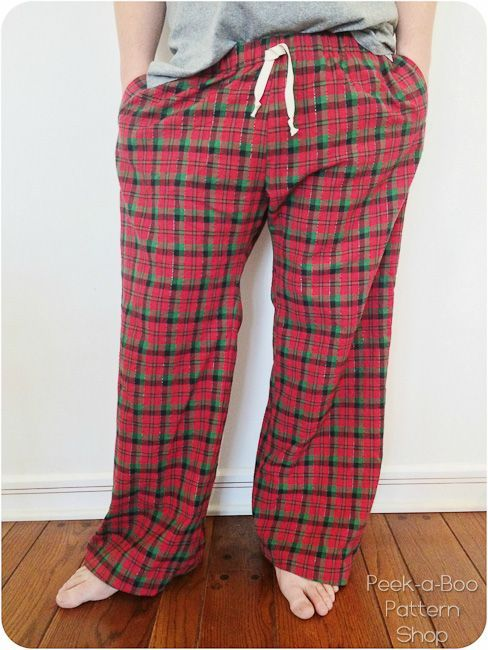 Adult Pajama Pants Sewing Pattern Is Here Pinterest Sewing