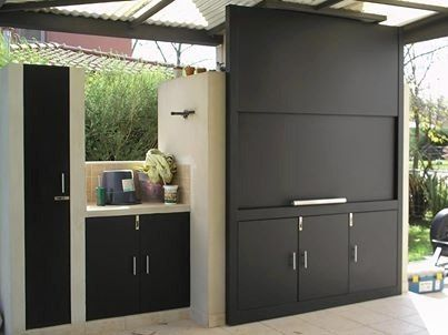 Outdoor Küchenofen : Parrillas con puerta proyectos que intentar pinterest outdoor