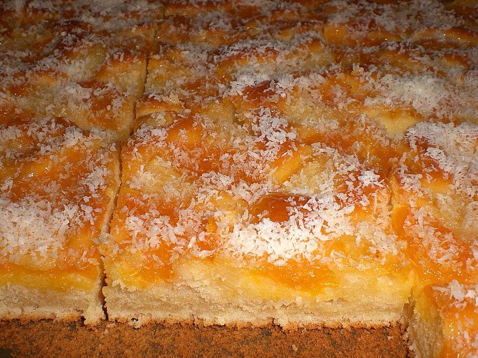 Ananas Mandarinen Blechkuchen Rezept Pinterest