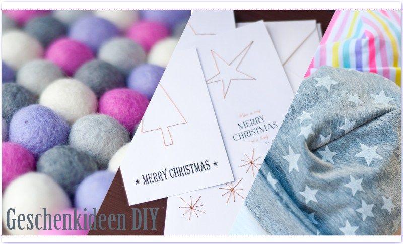Geschenkideen zum selber machen für jeden Anlass!