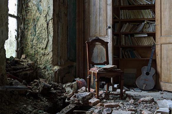 Capta la belleza de lugares abandonados — cribeo