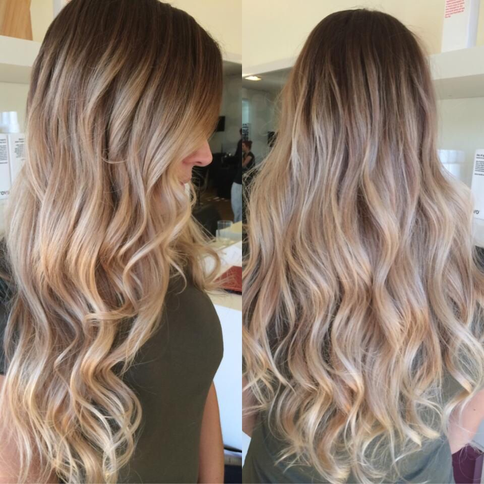 Sandy Blonde Balyage Hairbyamyz Hairandharlow Sandy Blonde