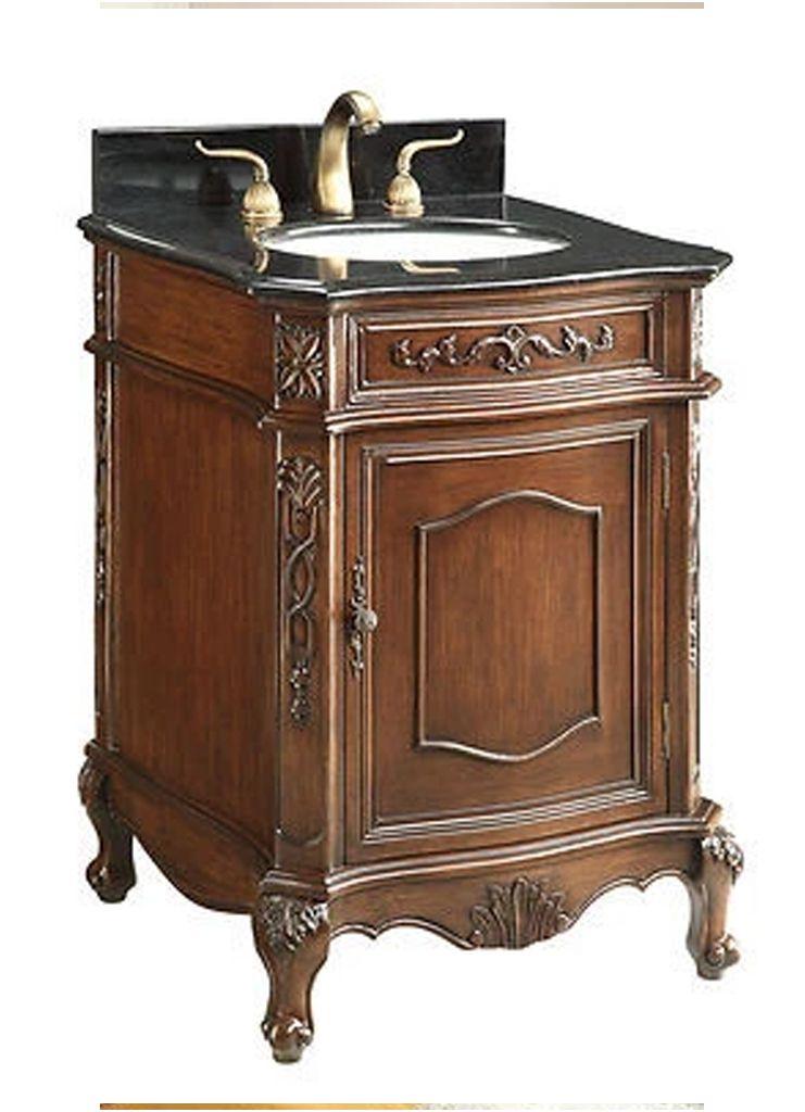 24 Antique Bathroom Vanity Vanity Sink Bathroom Sink Vanity