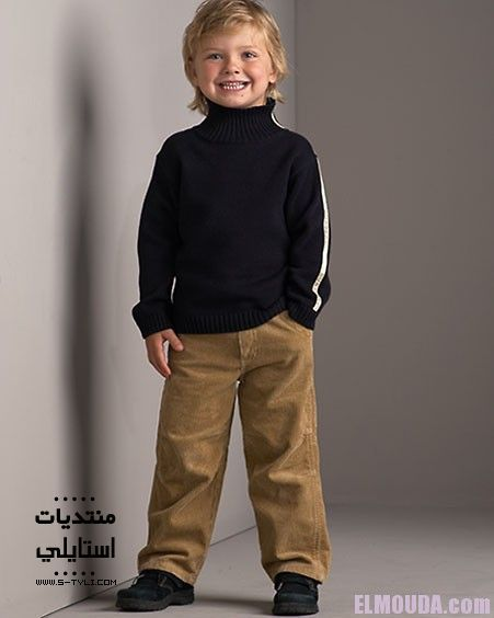 ملابس الاطفال الشتوية لأناقة و دفئ في شتاء 2015 Fashion Khaki Pants Pants