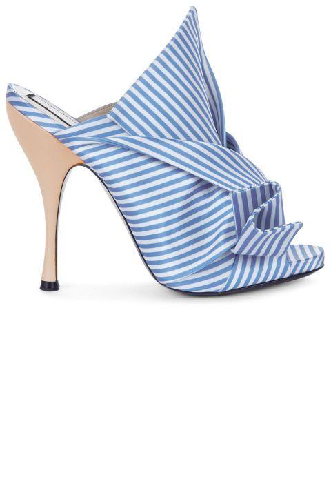 cdf0bfebb4 37  Something Blue  Wedding Shoes For Bold Brides