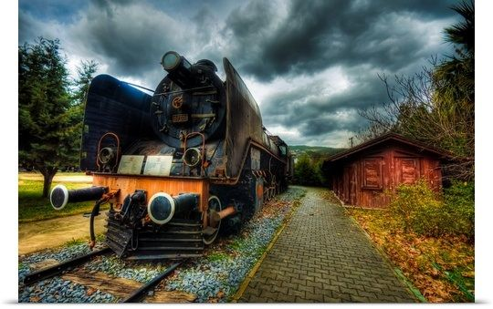 Steam Train ~ Nejdet Duzen | transportation | Pinterest