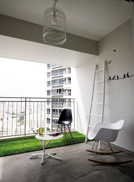 Home Design Ideas For Hdb Flats: 6 Creative Things To Do With A HDB Flat's Balcony
