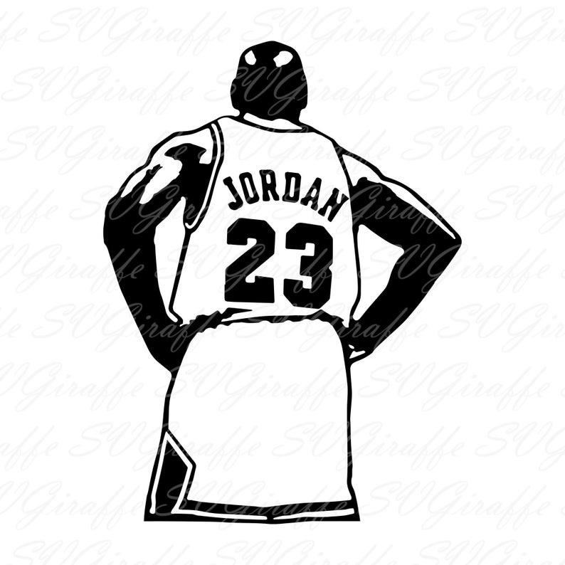 Michael Jordan 23 Jersey Svg Dxf Png Pdf Jpg Files Michael Jordan Vector Chicago Bulls Svg Dxf Pdf Png Jp Michael Jordan Tattoo Jordan Poster Jordan Tattoo
