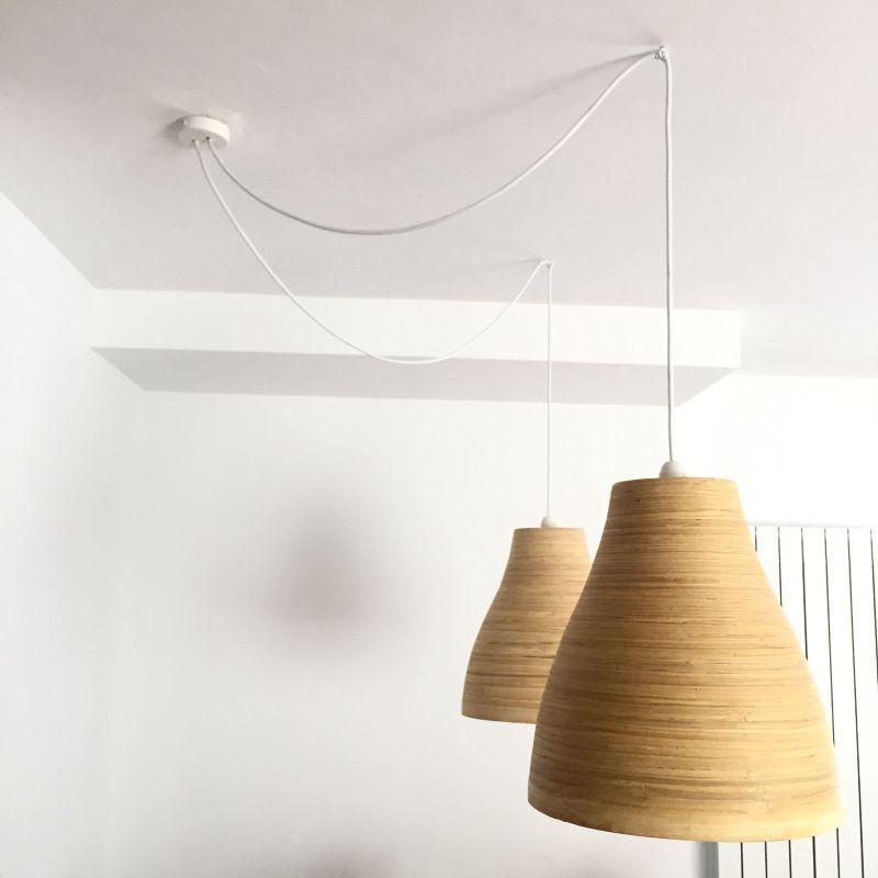 undefined en 2020 | Luces, Florón, Lampara de bambu