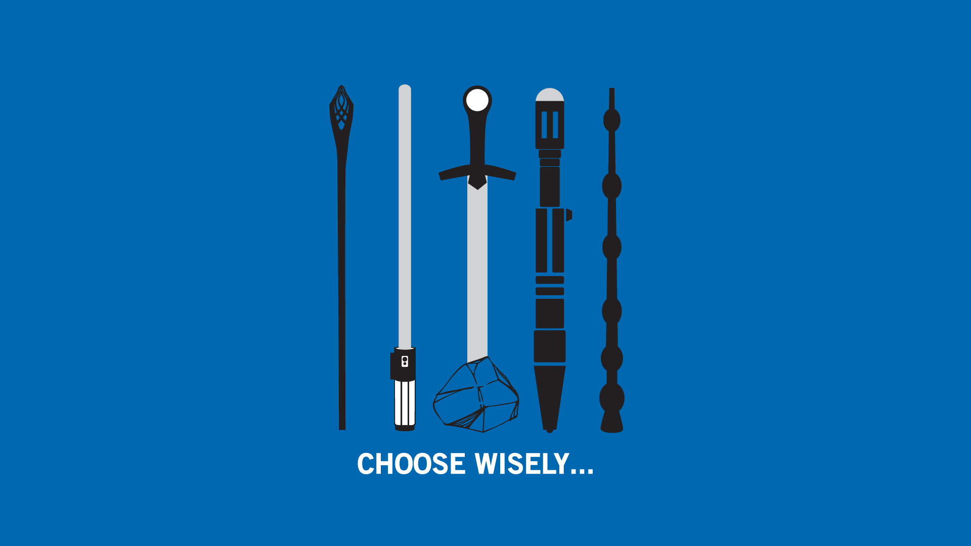 The Lord Of The Rings Star Wars Excalibur Harry Potter Doctor