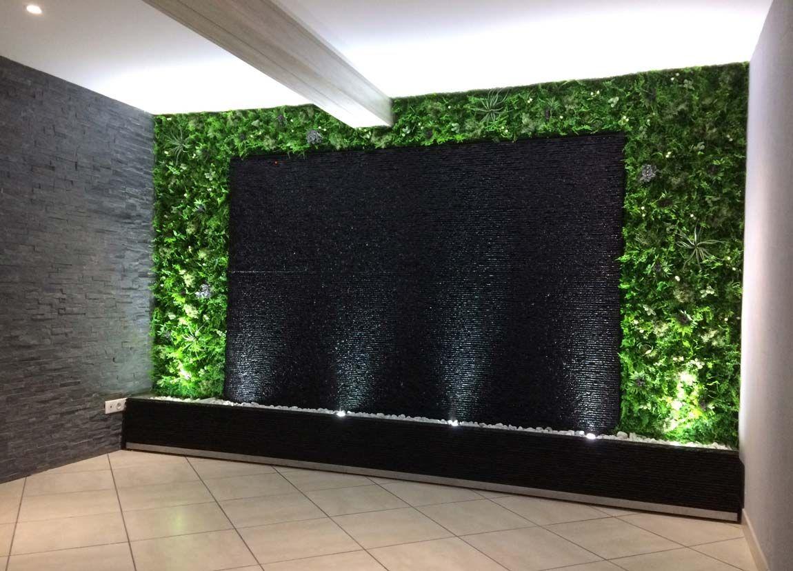 Mur D Eau Exterieur Idees