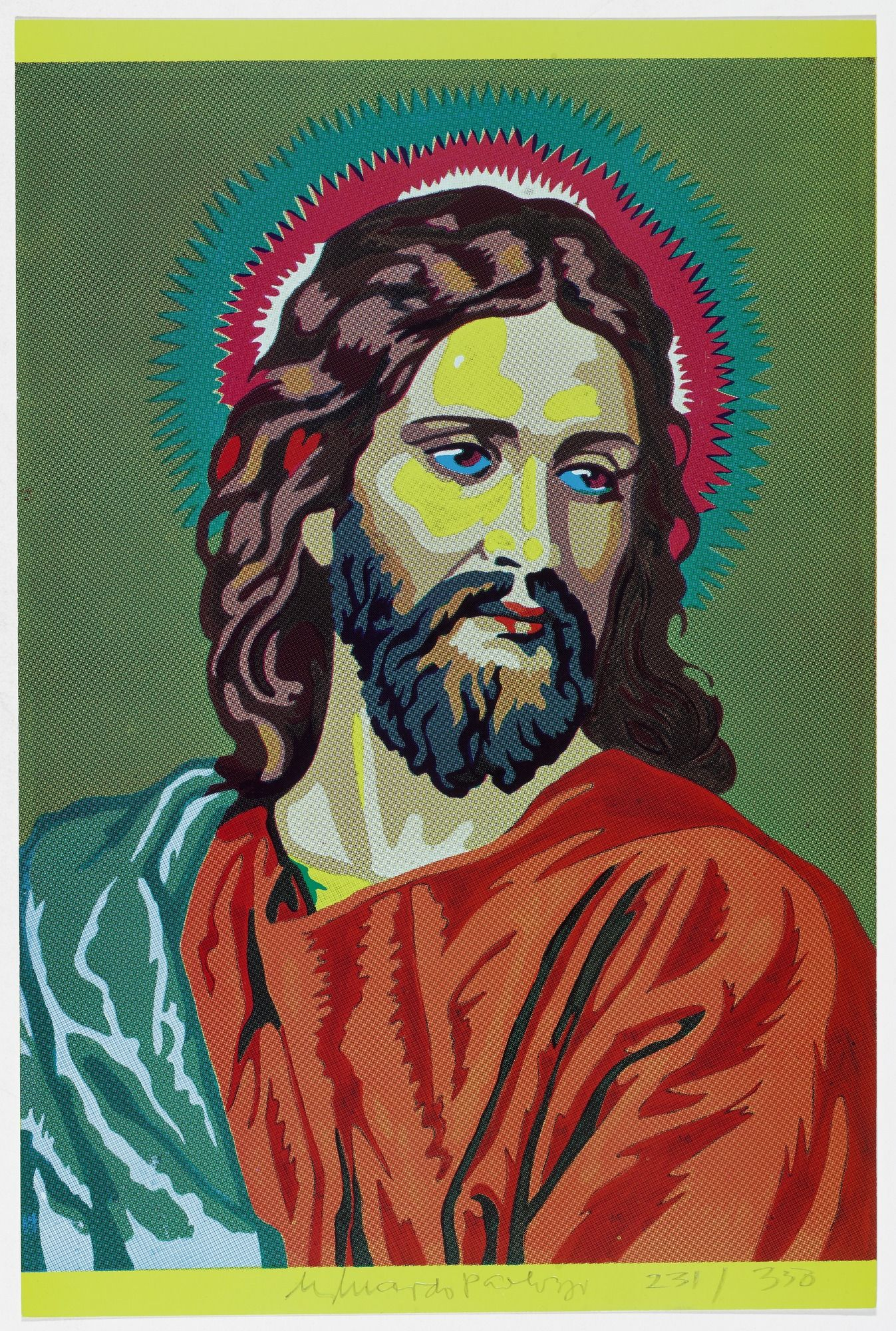 Eduardo Paolozzi  Jesus Colour by Numbers from General Dynamic