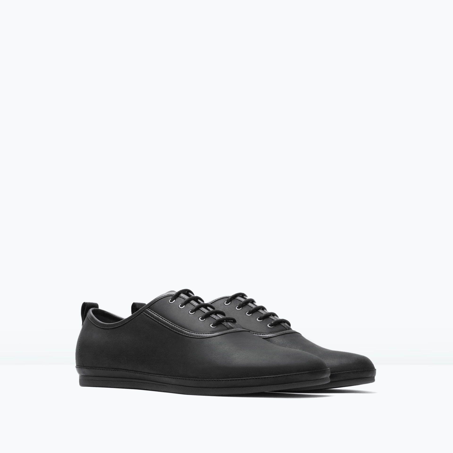 Zara Black City Shoe