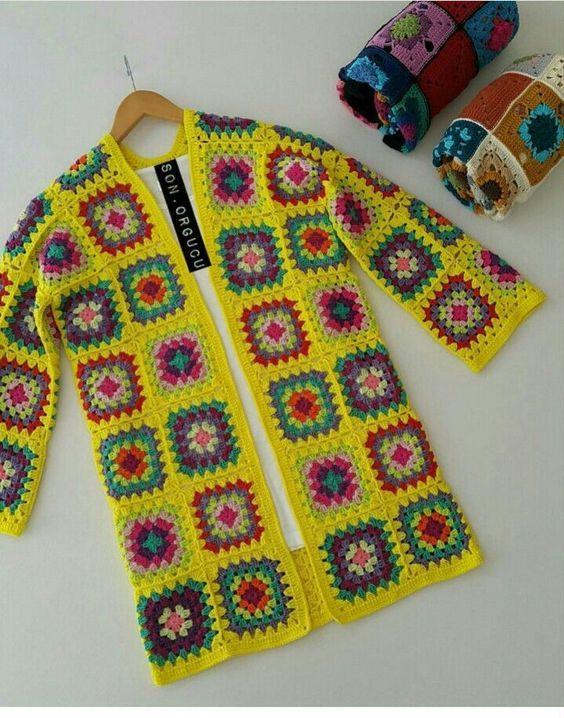 A Good Vintage Cardigan pattern by Fran Morgan