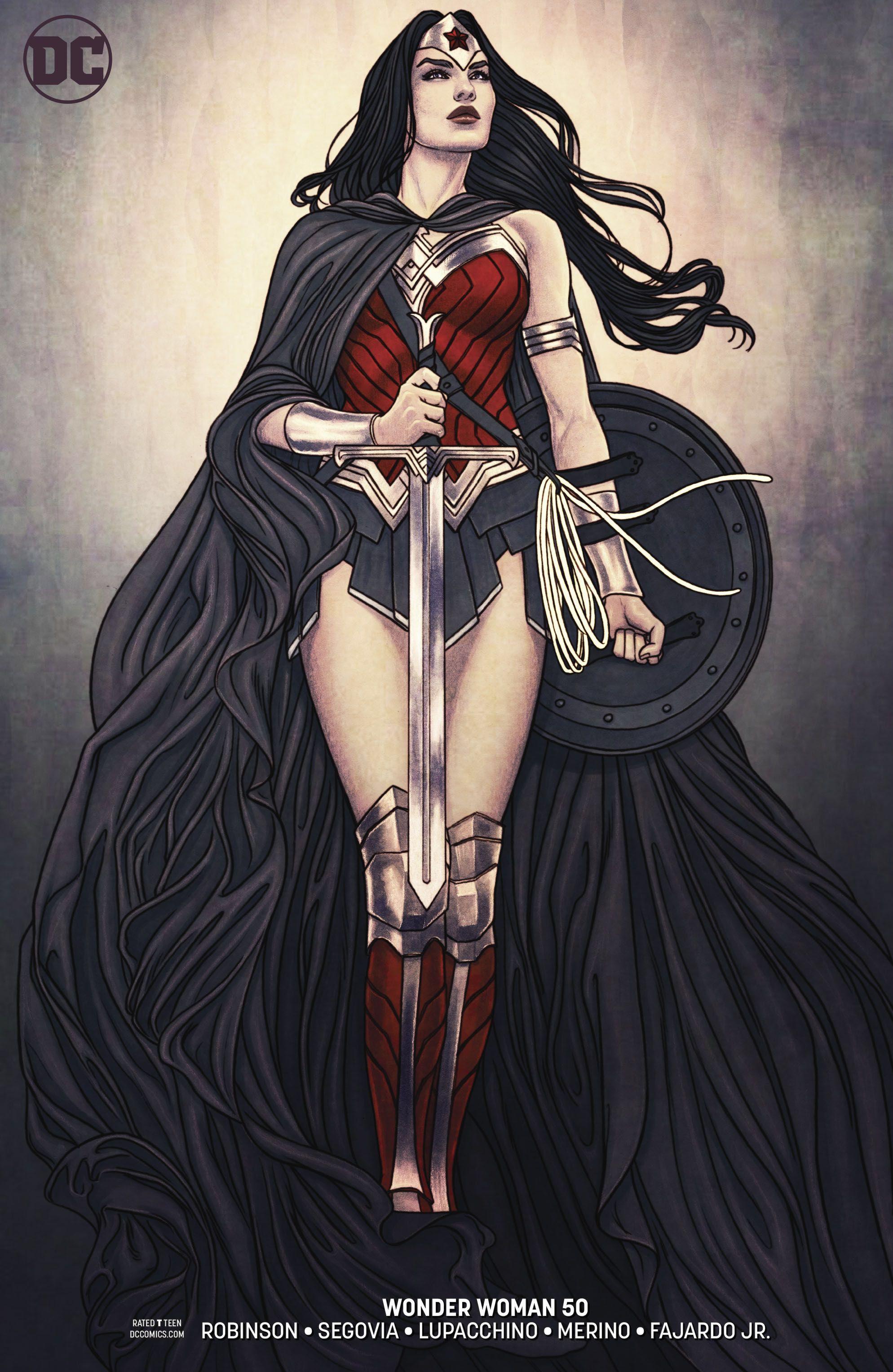 Wonder Woman 50 Jenny Frison Wonder Woman Comic Wonder Woman Drawing Wonder Woman Art