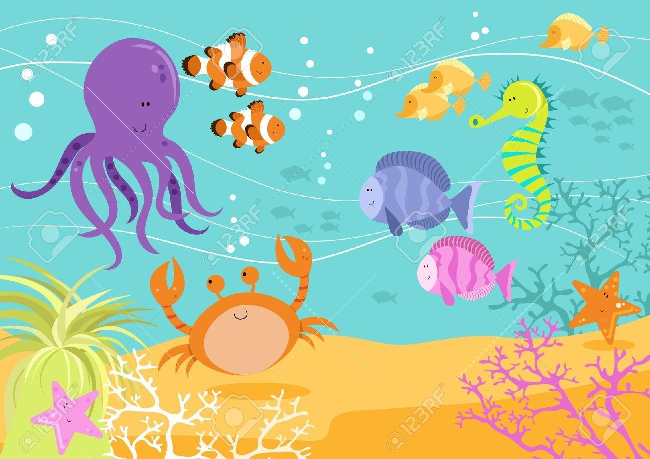 25+ Sea Animals Cartoon Movie
