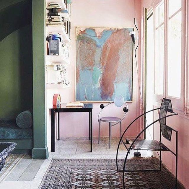 Color palette | Guillermo Santomà's home in Barcelona | #LilLemons #inspo