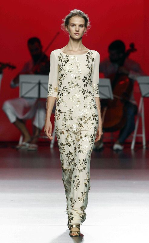 ESTHER NORIEGA-091 #MBFW #Madrid #fashion #dress #cool