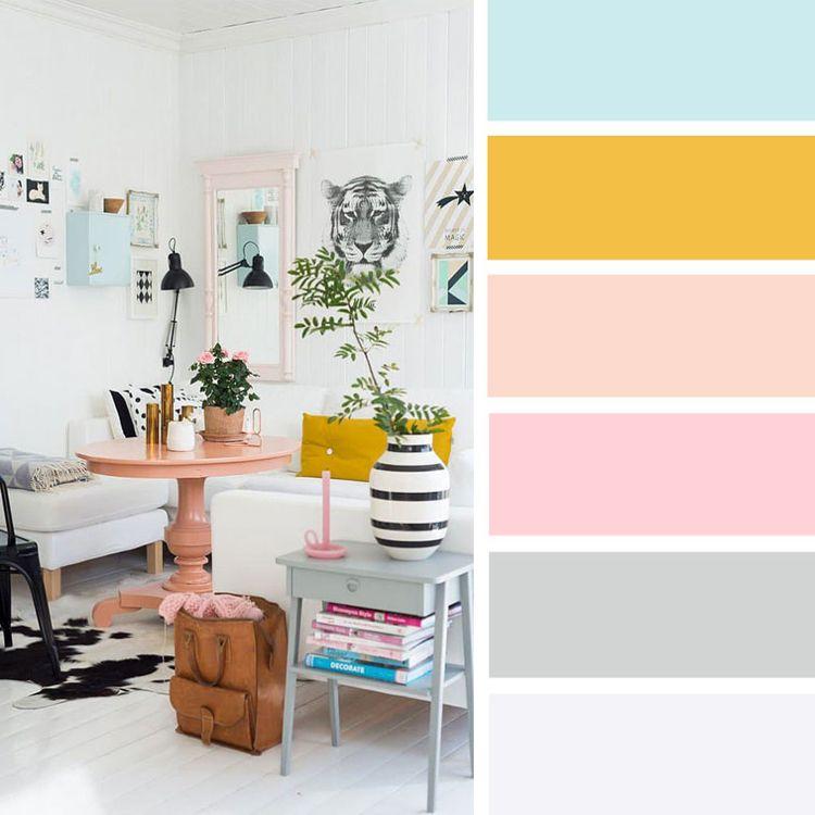 Grau Wandfarbe Farbpalette: Welche Farbe Passt Zu Gelb? Wohnideen Und