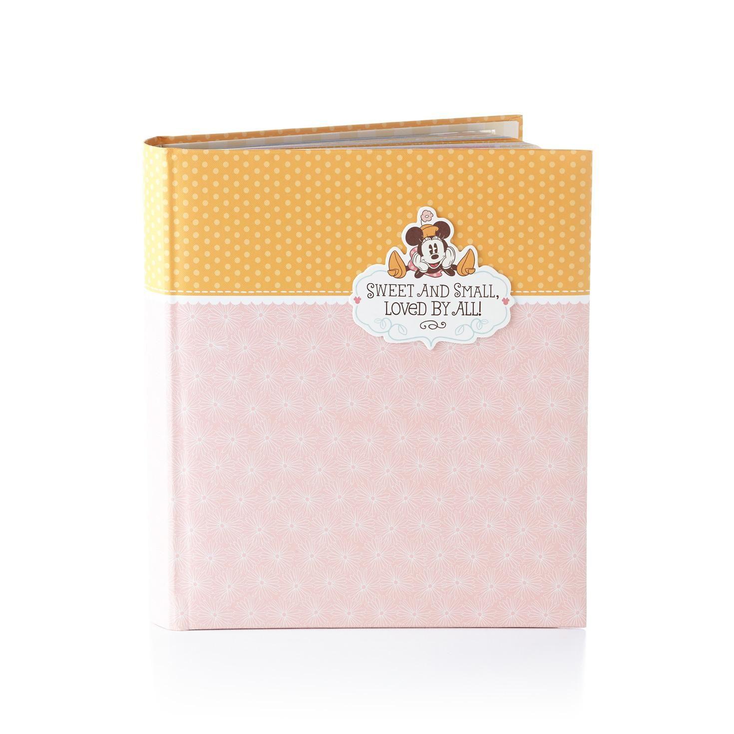 Good Minnie Mouse Memory Book   Baby Album | Hallmark