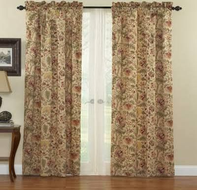 Lowes Curtains Panel Curtains Rod Pocket Curtain Panels