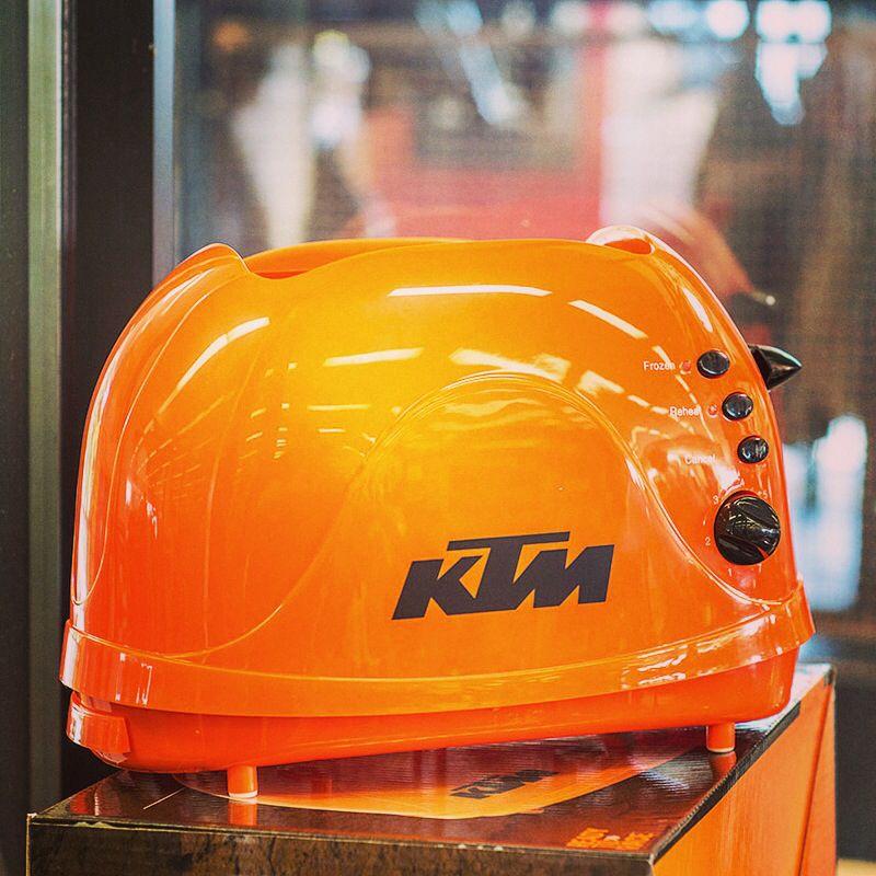 Ktm Has The Best Merch Racing Toaster Anyone Ktm Merch Bike