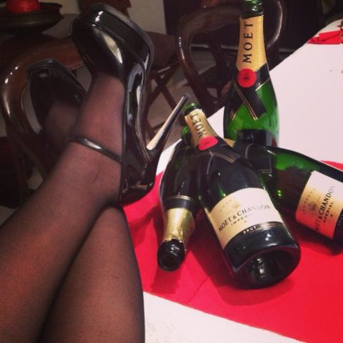 Moet and Mary Janes