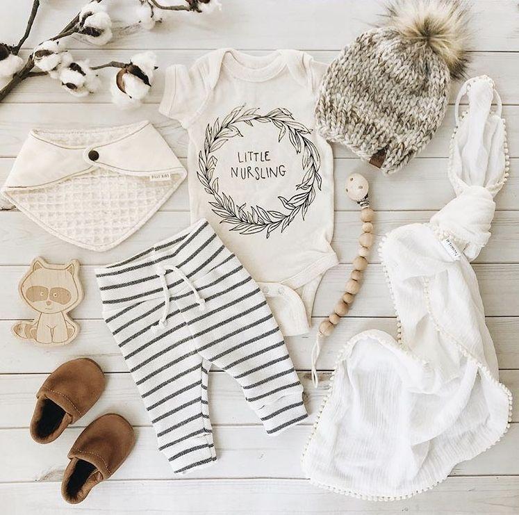 d8ac72537 Little nursling onesie onsie onzie bodysuit for baby boy girl newborn.  Breastfeeding Baby clothes. Organic baby outfits. Striped baby legging.