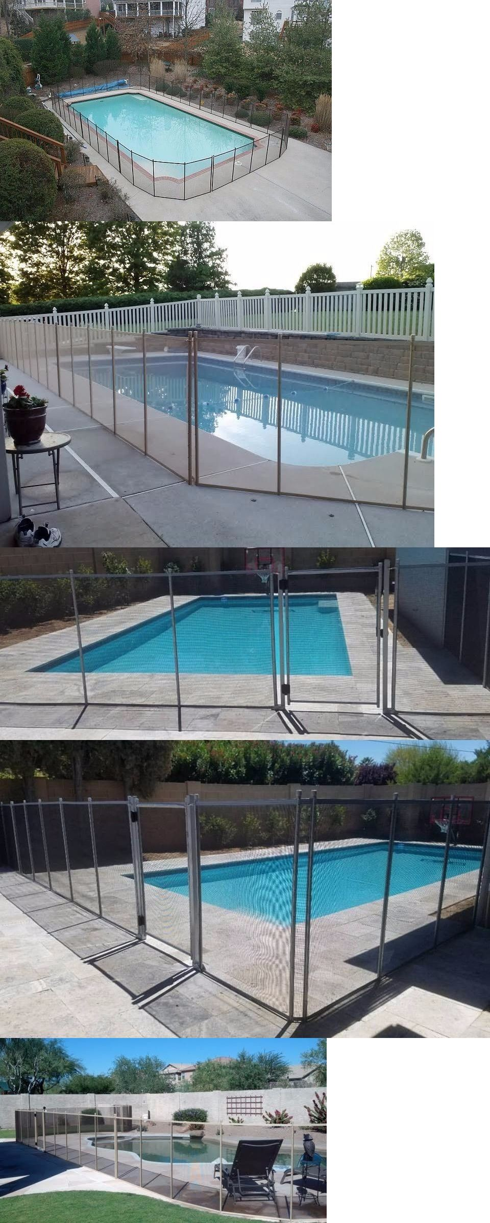 Pool Fences 167851: Pool Fence Swimming Pool Removable 5.25 Per Ft ...