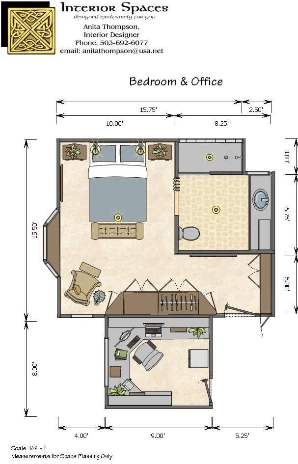 Master Bedroom Floor Plan Designs Office Plans Portland Interior Design