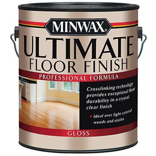 Minwax 131010000 Ultimate Floor Finish 1 Gallon Gloss Click Image To Review More Details This Is An Affiliate L Floor Finishes Polyurethane Floors Minwax