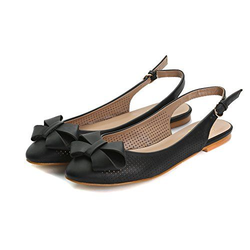 Alexis Leroy 2015 Spring Summer Womens Classic Buckle Design Fashion Flats Black 37 M EU  665 BM US * Check out this great product. Note:It is Affiliate Link to Amazon.