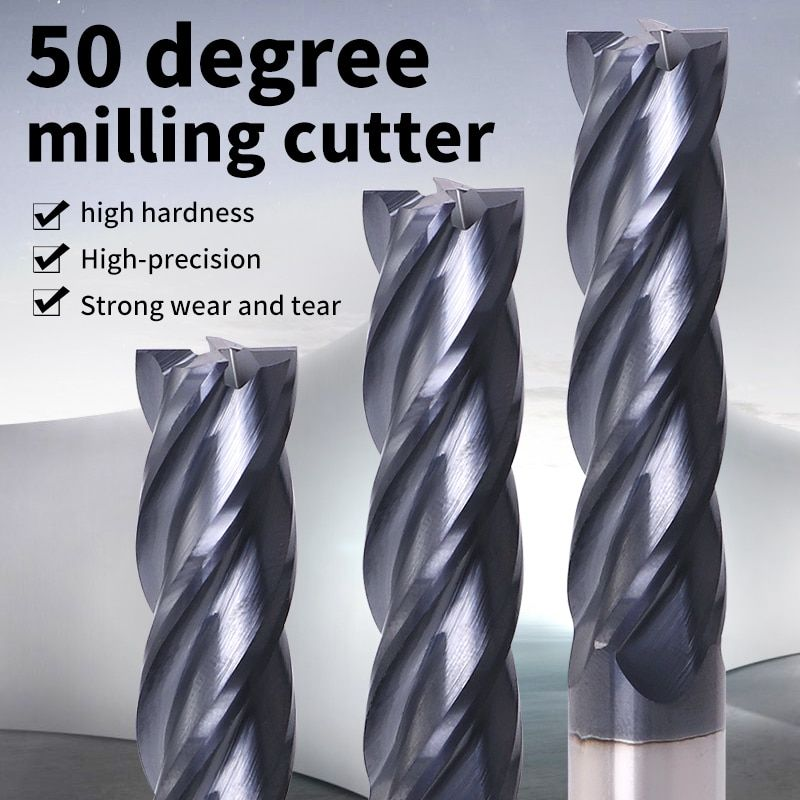 Carbide End Mills Router Bits For Aluminium Milling Cutter Straight shank