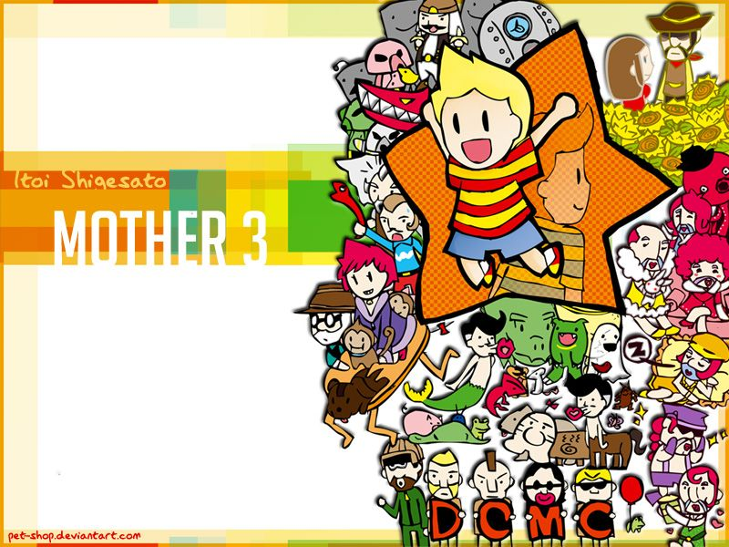 Mother 3 Wallpaper By Pet Shop On Deviantart Mother Games Mother Pets