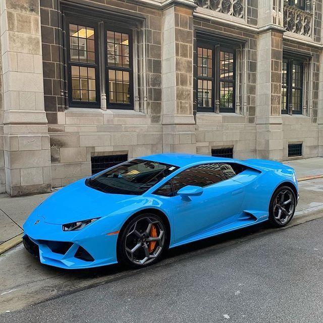 Blu Lamborghini Huracan EVO Blu Lamborghini Huracan EVO ...
