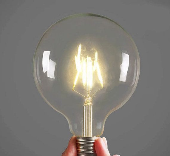 4w Vintage Style H125 Super Large Led Edison Light Bulb E27 Led Lamp Decor Your Home Globe Glass Colorful Lamps Color Changing Light Bulb Light Bulb Lamp