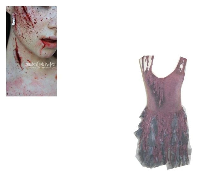"""A halloweenish outfit"" by amazing-loser ❤ liked on Polyvore"