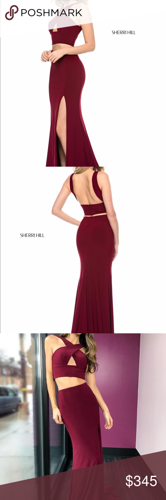 bd1166b1770 Sherri Hill 51810 Sherri Hill 51810. This two-piece dress is from her 2018