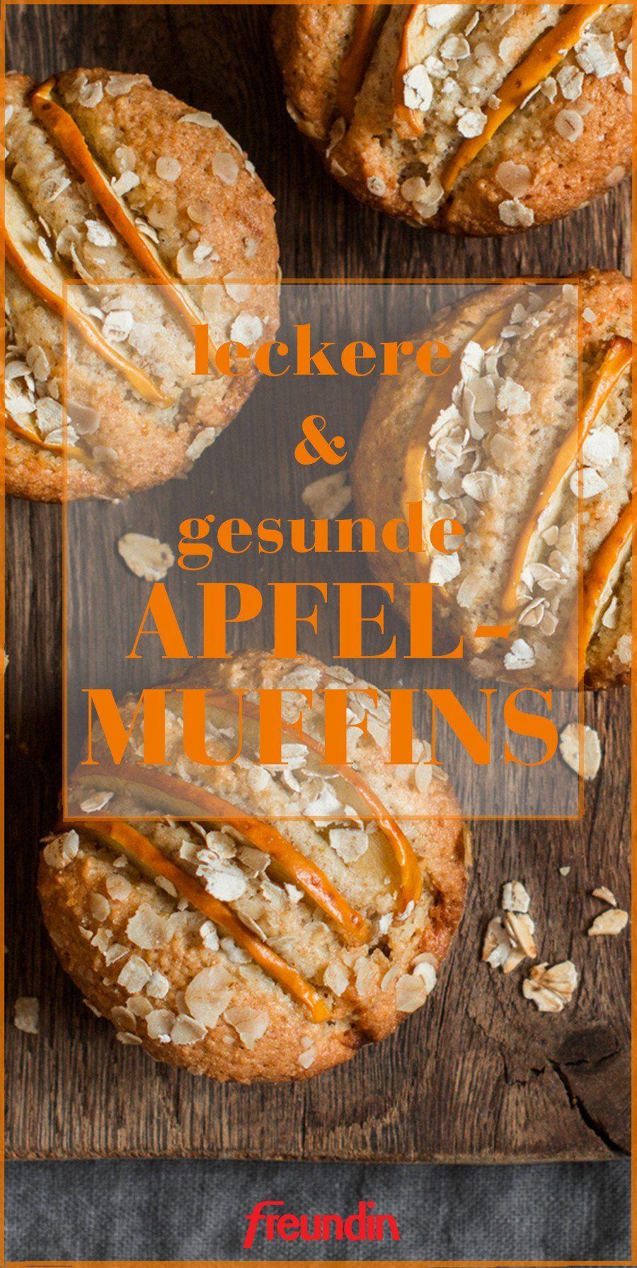 Gesunde und leichte Apfel-Muffins | freundin.de