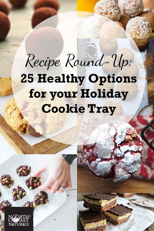 Recipe Round-Up 25 Healthy Options for your Holiday Cookie Tray