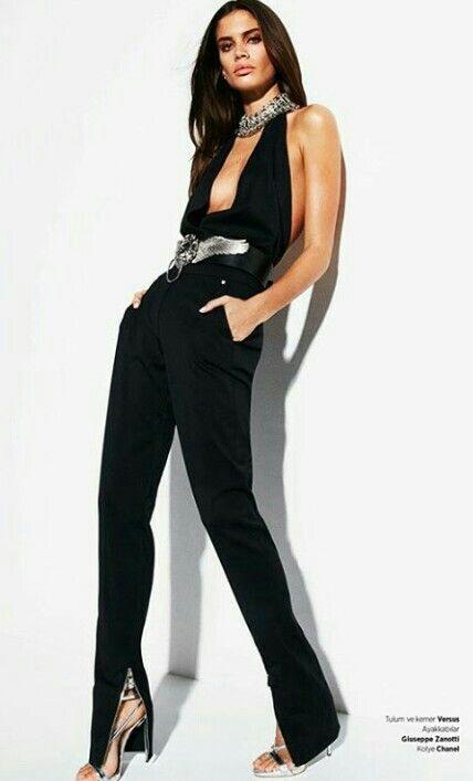 Sara Sampaio in Versus Versace for Haper's Bazaar Turkey, may 2016