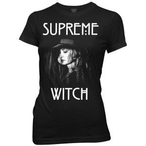 American Horror Story Supreme Witch Junior Fit T-Shirt