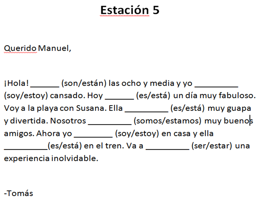 Worksheets Ser Vs Estar Worksheet 1000 images about ser v estar on pinterest spanish online quizzes and class